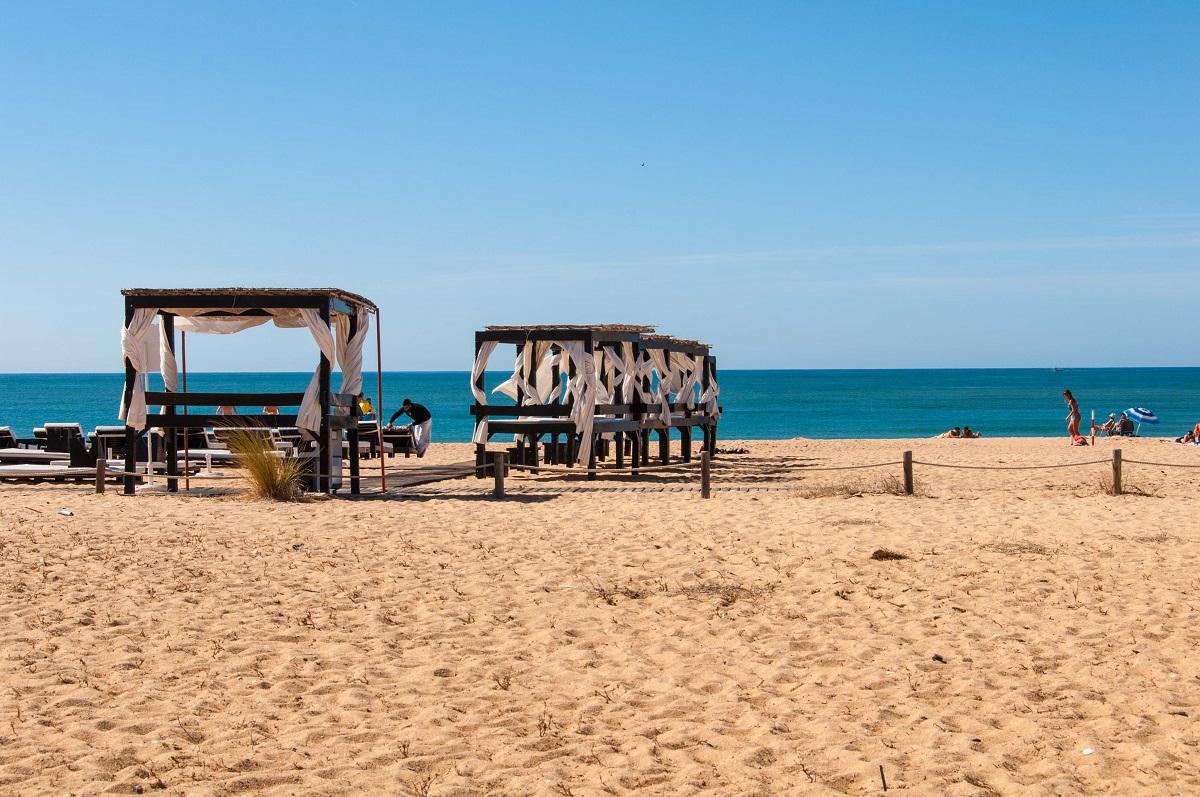 Vilamoura strand